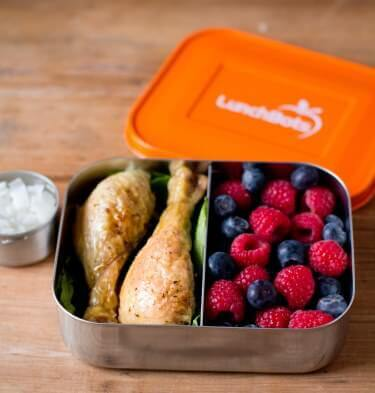 Lunchbots Duo Stainless Steel Lunchboxes
