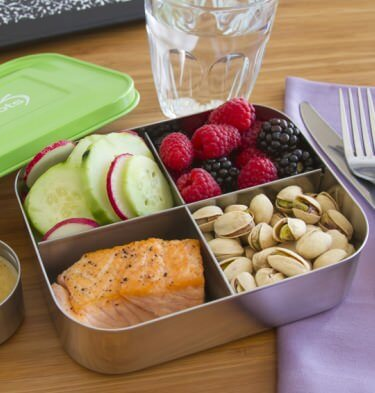 Lunchbots Quad Stainless Steel Lunchboxes