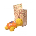 Lanco 100% Natural Rubber Teether Ned Turtle Yellow
