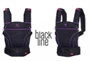 Manduca Organic Blackline Baby Carrier Loving Lilac