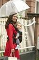 Manduca Organic Blackline Baby Carrier Radical Red