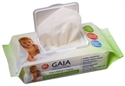 Gaia Baby Wipes 80 wipes 3 PACK SPECIAL