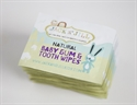 Jack n' Jill Baby Gum & Tooth Wipes Natural Cotton Wipes