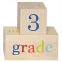 All4Ella - Milestone Blocks Neutral (Wood)