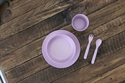 Bobo&boo Dinnerware Set Lilac 5 pieces