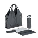Lassig Neckline Bag Spin Dye Black Melange