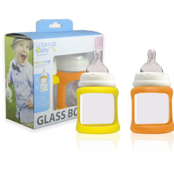 Cherub Baby Glass Baby Bottle