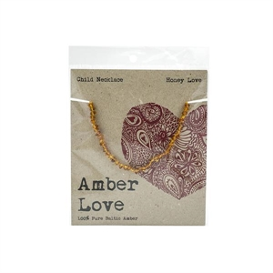 Picture of Amber Love Honey Love Child Necklace