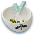 My Natural - Eco Bowl Light Blue Racoon Gift Set
