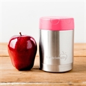 Lunchbots Stainless Steel Insulated Food Container Pink 12oz/350ml