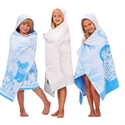 Breganwood Organics Prairie Collection Blue Ferret Bath Wrap 69cmx114cm