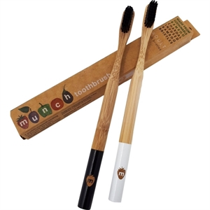 Picture of Munch Bamboo Toothbrush for Adult