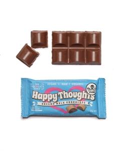 Picture of The Chocolate Yogi  Happy Thoughts 35g bar Vegan Mylk Chocolate