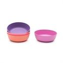 Bobo&boo bamboo bowl set – sunset 4pk