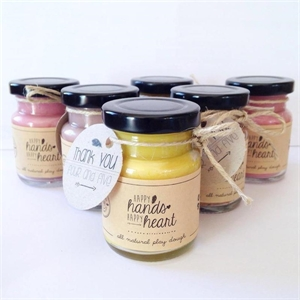 Picture of Party Favours Happy Hands Happy Hearts Mini Playdough