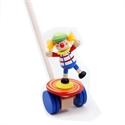 Circus Clown Pushing Toy