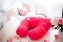 PREORDER (ETA December - January) Nook Niche Feeding Pillow - Blossom (Bright Pink)
