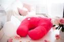 PREORDER (ETA December - January) Nook Niche Feeding Pillow - Blossom (Bright Pink)