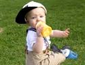 Cherub Baby Colour Change Glass Baby Bottles Wide Neck 240ml Twin Pack – Yellow
