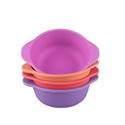 Bobo&boo Snack Bowls Sunset 4pk
