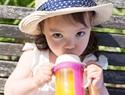 Cherub Baby Colour Change Glass Bottles Wide Neck 150ml Single Pack – Pink