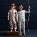 ErgoPouch Winter Onesie (2.5 Tog) - Rainforest Leaves (Available 12-24mths)