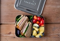 Lunchbots Bento Trio Stainless Steel Food Container