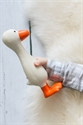 Gertie the Good Goose - Natural Rubber Teething Toy