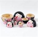 Japanese Sakura Nesting Doll