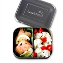 Lunchbots Stainless Steel Lunchboxes - Medium Duo Compartments