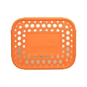 Lunchbots Orange Dots Stainless Steel Lunchboxes - Medium Duo Compartment