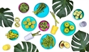 Bobo&boo Plant-Based Dinnerware Set – Lagoon