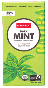 Picture of Alter Eco, Organic Chocolate, Dark Mint, 2.82 oz (80 g)