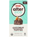 Picture of Alter Eco, Organic Chocolate, Dark Salted Coconut Toffee Chocolate 80gm
