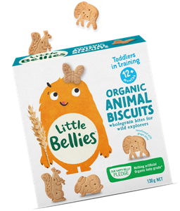 Picture of Baby Bellies- Organic Animal Biscuits