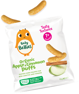 Picture of Baby Bellies- Organic Apple & Cinnamon Puffs