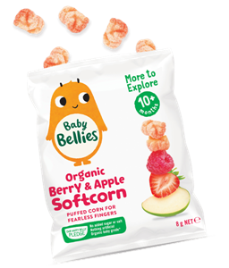 Picture of Baby Bellies- Organic Berry & Apple Softcorn