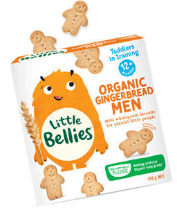 Picture of Baby Bellies- Organic Gingerbread Men