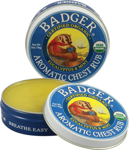 Picture of Badger Aromatic Chest Rub 56gm