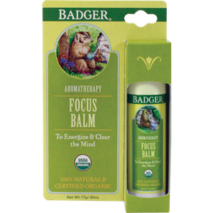 Picture of Badger Focus Balm 17gm