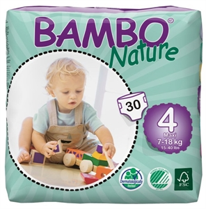 Picture of Bambo Nature Maxi - #4  (7-18kg)