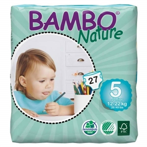 Picture of Bambo Nature size 5 Junior  (27x12-22kg)