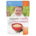 Picture of Bellamy's Organic Vanilla Rice Custard 125gm