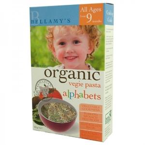 Picture of Bellamy's Organic Vegetable Alphabet Pasta 200gm