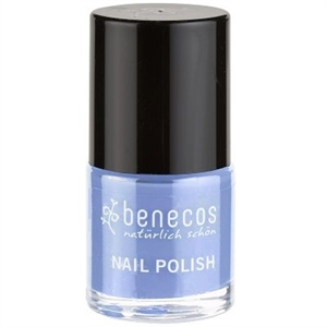 Picture of Benecos Nail Polish Blue Sky 9ml