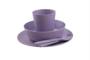 Picture of Bobo&boo Dinnerware Set Lilac 5 pieces