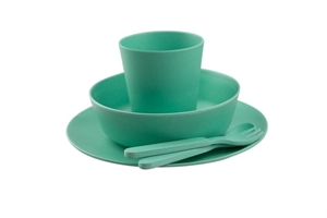 Picture of Bobo&boo Dinnerware Set Mint 5 pieces