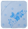 Picture of Breganwood Organics Prairie Collection Blue Ferret Bath Wrap 69cmx114cm