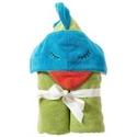 Picture of Breganwood Organics Woodland Collection Kids Organic Hooded Towel Funny Bird  69cmx114cm