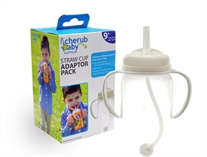 Picture of Cherub Baby Wide-Neck Straw Cup Adaptor Pack